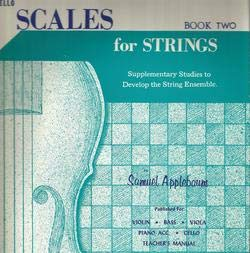 Scales for Strings Cello Book 2
