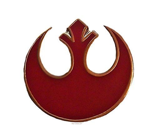 Star Wars REBEL ALLIANCE Sm RED Logo Enamel PIN (Logo Pin Enamel)