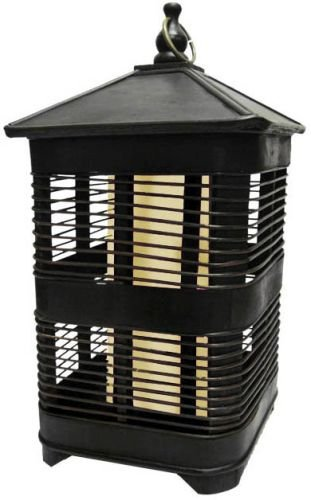 Garden Meadow R801W Solar Zen Square Birdcage with White Light, ()