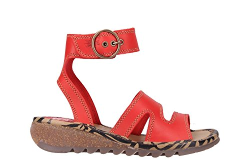 London London Sandals P500722013 Fly Red Fly Sandals London Sandals Red P500722013 Fly wrx7r4qAX