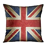 TOMKEYS Throw Pillow Cover Great Britain...