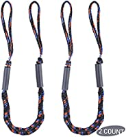 Bungee Dock Line for Boats, AngleKai 4FT Mooring Rope Docking Lines Bungee Boat Rope Accessories for Jet Ski,