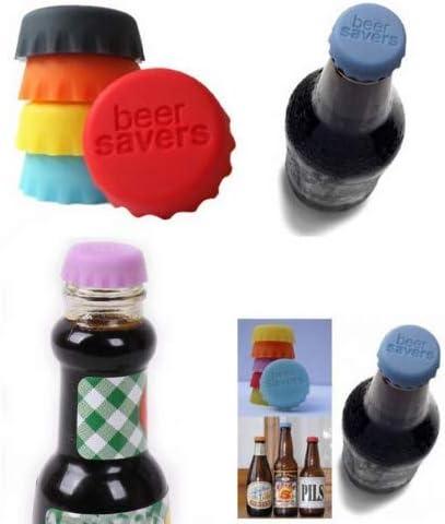 Tomister - 12 Tapones de Silicona para Botellas, Tapones para Botella, Tapones para Botellas, Marcas para Botellas, respetuosos con el Medio Ambiente, Reutilizables: Amazon.es: Hogar