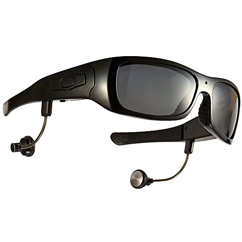 JOYCAM Bluetooth Sunglasses with 720P Camera Video Recording Polarized UV400 Glasses with Detachable Speakers