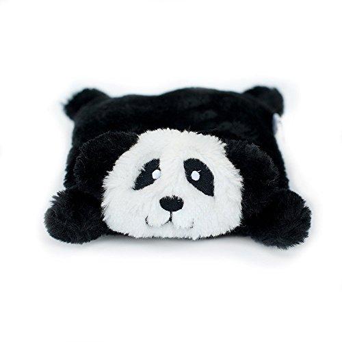 ZippyPaws Squeakie Pad No Stuffing Plush Dog Toy, - Toy Dog Panda