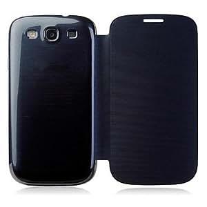 CECT STOCK Caso del color sólido tirón del protector de la cubierta de la PU de cuero para Samsung Galaxy SIII I9300 (colores surtidos) , Rosado
