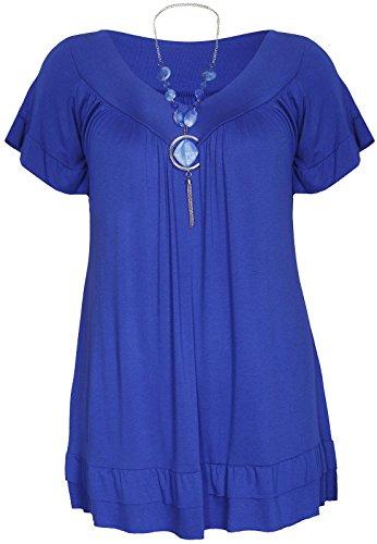 FATALFASHION - Camisas - para mujer azul real