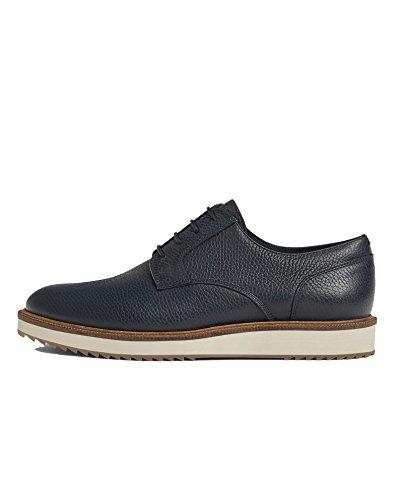 Zara Hommes Bleu Marine Chaussures En Cuir 2507/302