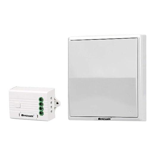 breezesmile wireless light switch kit no battery no wiring no tear rh amazon co uk light switch wiring no earth light switch wiring no neutral