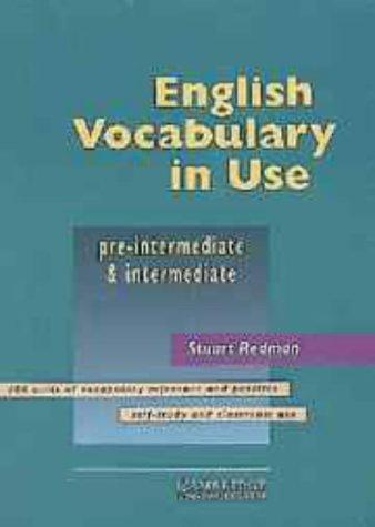 English Vocabulary In Use  Pre Intermediate And Intermediate