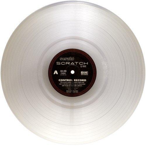 Rane Serato Scratch LIVE - 2.5 Control Vinyl Record Clear