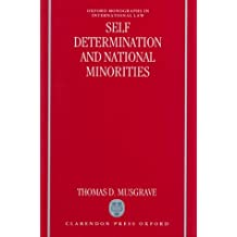 Self-Determination and National Minorities