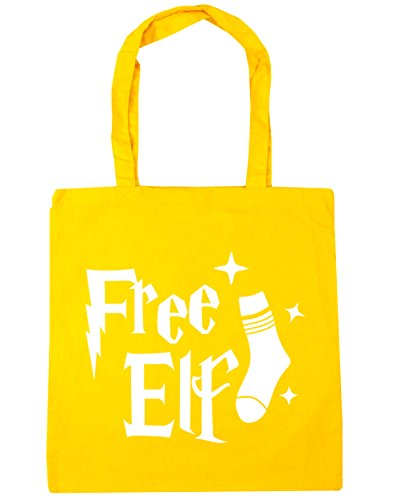 litres Yellow Free 42cm Beach Elf Gym Tote Bag 10 Shopping HippoWarehouse x38cm Rv6TFFP