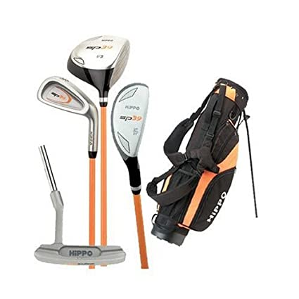 Amazon.com: Hipopótamo sp39 Junior Kit de Club de Golf (mano ...