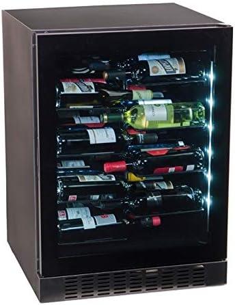 Vinoteca integrable negra compresor 40 botellas CV-40LV[Clase de eficiencia energética A]