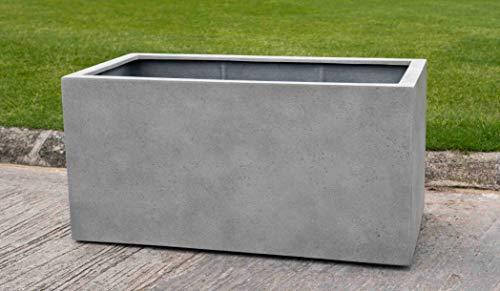 Campania International 94-806-8901 Sandal Planter 592424, Stone Grey Lite