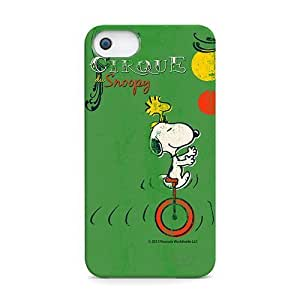 iLuv ICA7H382GRN Snoopy Vintage Series Hardshell Case for Case For HTC One M7 Cover - 1 Pack - Retail Packaging - Green