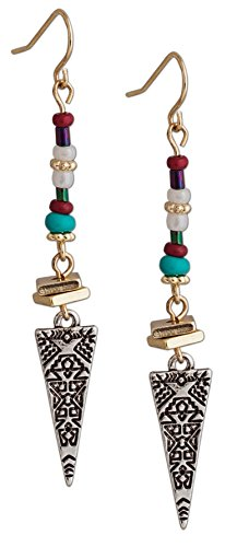 [Silver and Gold earrings with an Egyptian, Greek, and Roman Designs | SPUNKYsoul Collection] (Roman Goddess Accessories)