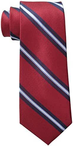 Tommy Hilfiger Men's Oxford Ribb Stripe Tie