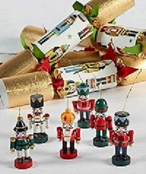 Robin Reed 6 X 12 English Christmas Party Favours from Nutcracker collectables
