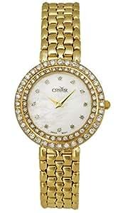 Condor 14kt Gold & Diamond Womens Luxury Swiss Watch Quartz CDRHCMOP