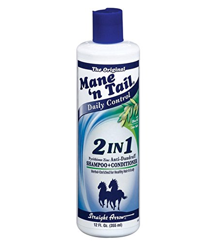 Mane N Tail Daily Control 2 in 1 Anti-Dandruff Shampoo and Conditioner, 12 (Tail Olive Oil)