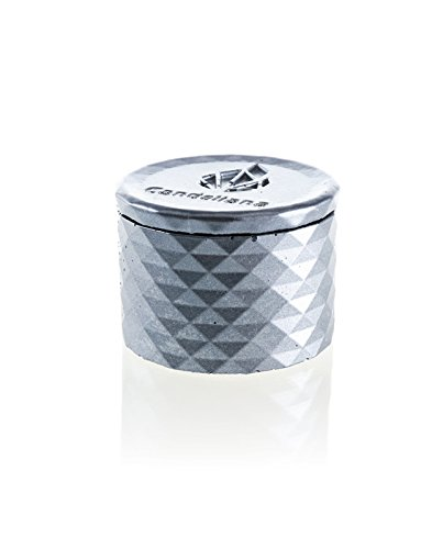 Candellana Candles Candlefort Concrete Candle Orient Vanilla Pineapple Steel Scent