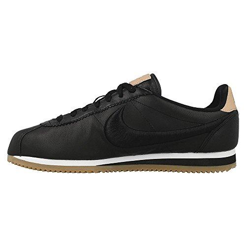 Nike - Zapatillas de Piel para hombre negro negro