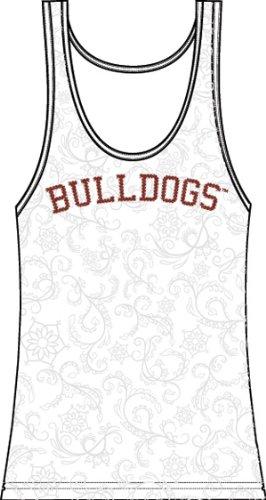 - Emerson Street Women's Mississippi Bulldogs Swirl Tank XL