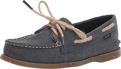 Sperry Top-Sider Authentic Original Eco Hemp Boat Shoe Women 9.5 Navy