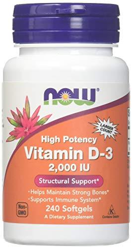 Now Foods - Vitamin D-3 2000 IU 240 softgels
