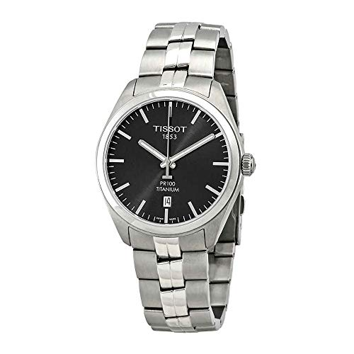 Tissot T101.410.44.061.00 Men's Watch PR 100 Silver 39mm Titanium