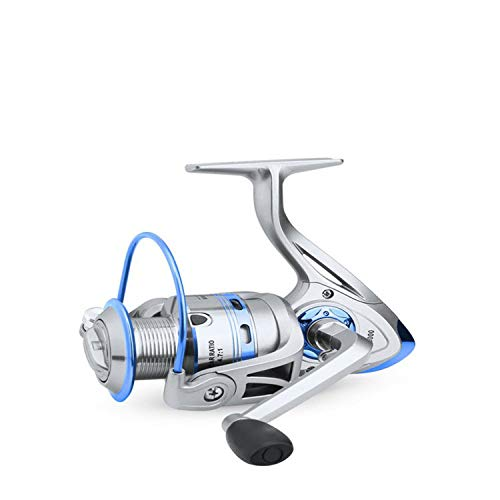 1000-6000 Spinning Fishing Reel 12Bb Saltwater Fishing Reel Wheel Anti Seawater Corrosion Roller Fishing,Silver,12,2000 Series
