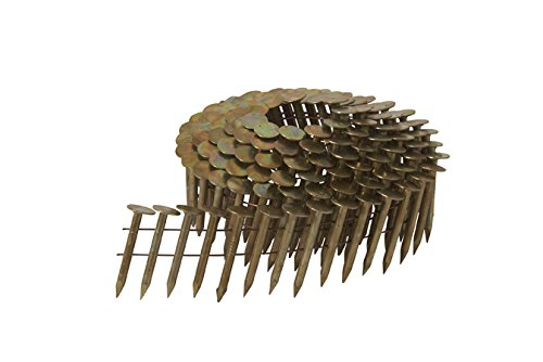 Metabo HPT 12113HPT High Wire Coil Roofing Nails, 1-3/4
