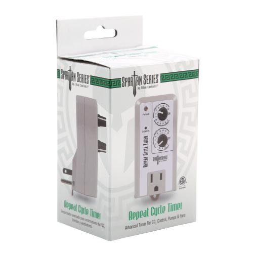 Titan Controls Repeat Cycle Timer, Single Outlet, 120V - Spartan Series