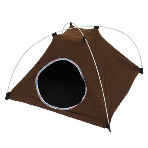 Jardin Pet Foldable Tent, 22cm, Coffee For Sale