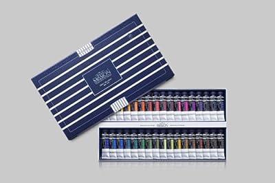 Watercolour Paint Mijello Mission White Class Set 15ml 34 Colours MWC-7034
