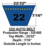 #1: 22525 OEM Replacement .6875 x 53.14 inch
