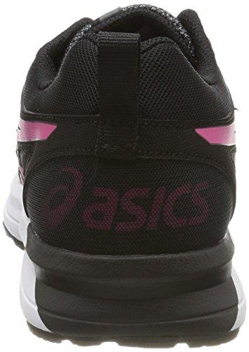 Asics Vrouwen Torrance Loopschoen Carbon / Pink Pauw / Zwart