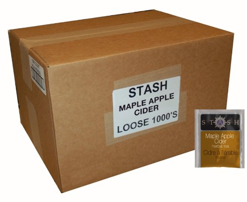 Stash Tea Maple Apple Cider 1000 Tea Bags in Foil for Use in Teapots Mugs or Cups, Brew Hot Tea or Iced Tea by Stash Tea (Image #1)