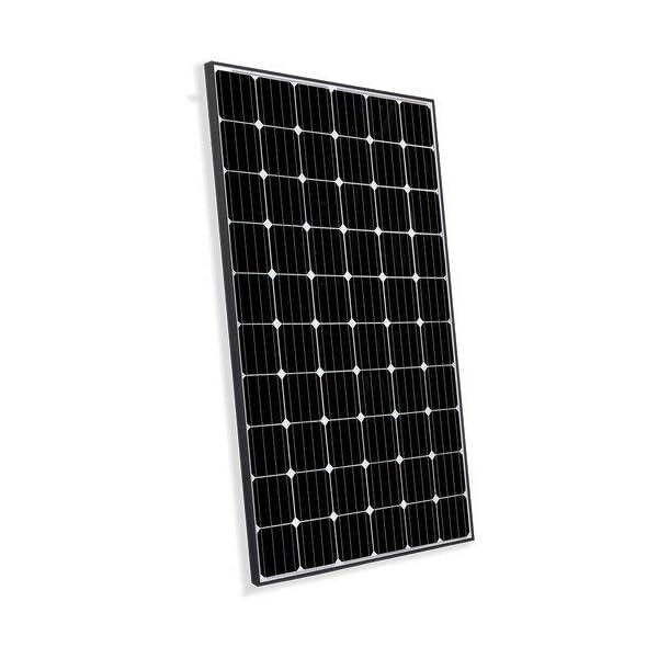 Solarmodul Photovoltaik 300W Rahmen Schwarz Monokristalline Haus Alpenhutte