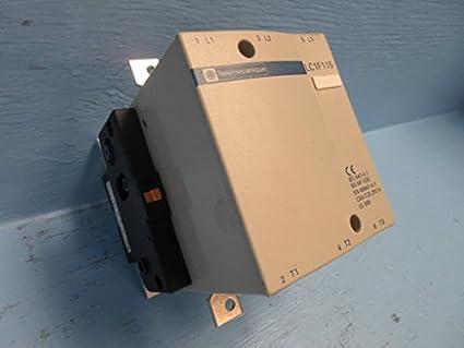 Telemecanique LC1F115 Contactor 175 Amp 600V 100HP 3P 480V Coil