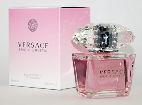 (Bright Crystal By: Versace 3.0 oz EDT, Women's ~Free Gift With Order~)
