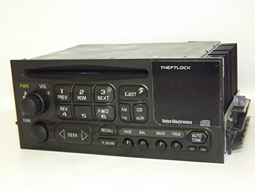 Chevy Truck 1995-2005 AM FM CD Player Radio - OEM Factory GM Delco Rebuilt (Oem Factory Radio)