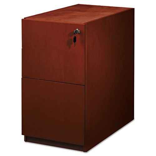 MLNPFF22C - Luminary Series Wood Veneer File/File Pedestal