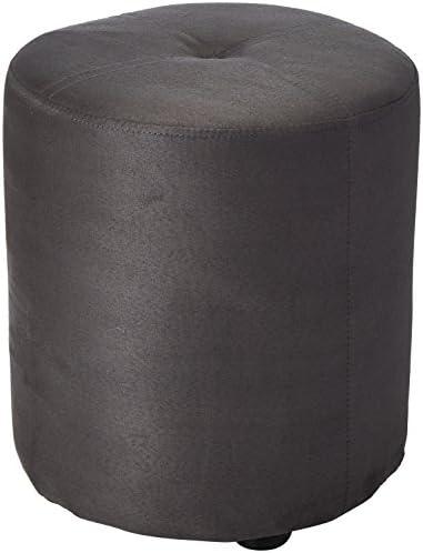 Kings Brand Furniture Josue Round Ottoman Stool