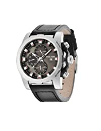 Police PL13928JS/61 Men's Speedster Analog-Quartz Grey Dial Multifuction Watch with 3 Hands