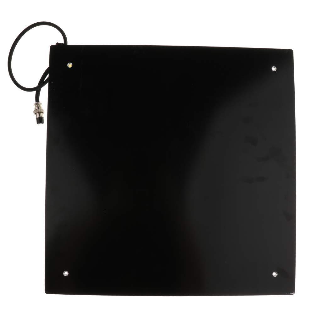 nouler Juler 400X400Mm Mk3 Aluminum Plate Heating Bed PCB Board for Cr10 S4 3D Printer