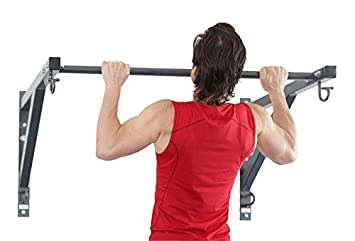 Core Energy Fitness Anchor Gym PULL UP BAR – Modular Wall Mount Station for Resistance Bands and Suspension Training
