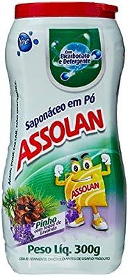 Ypê Saponáceo Em Pó Com Detergente Assolan 300g - Pinho